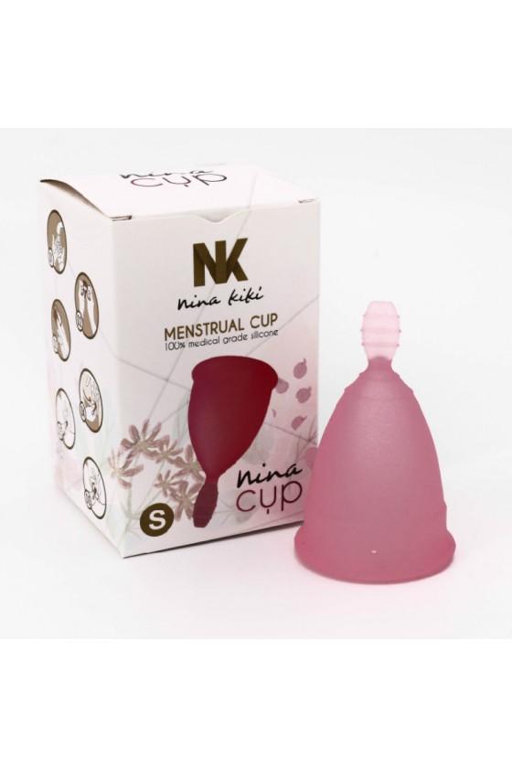 NINA CUP COPA MENSTRUAL TALLA S ROSA 6 + 1 GRATIS