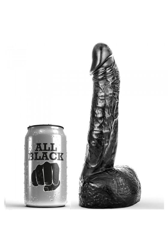 ALL BLACK DILDO FISTING 20 CM