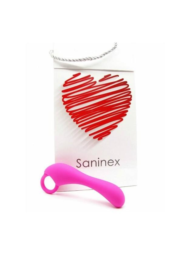 SANINEX ESTIMULADOR DUPLEX ORGASMIC ANAL SEX UNISEX ROSA