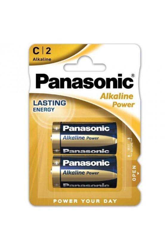 PANASONIC BRONZE PILA ALKALINA C LR14 BLISTER2