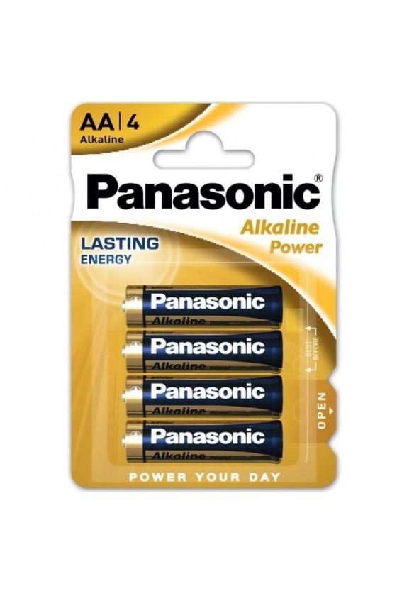 PANASONIC BRONZE PILA ALCALINA AA LR6 BLISTER4