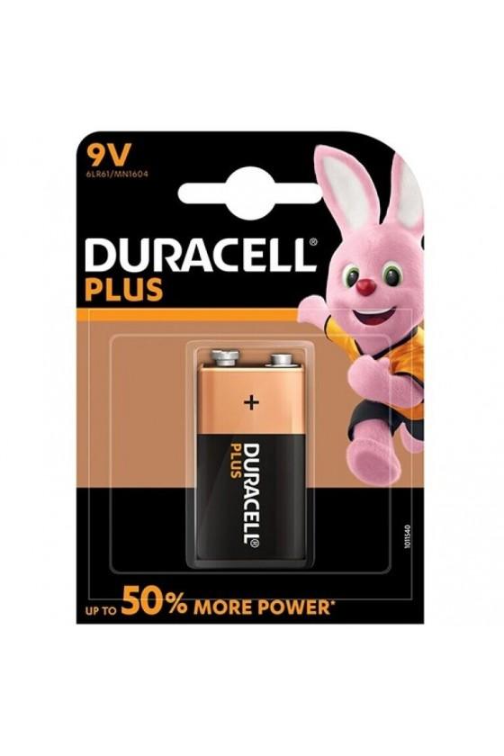DURACELL PLUS POWER PILA ALCALINA 9V LR61 BLISTER1