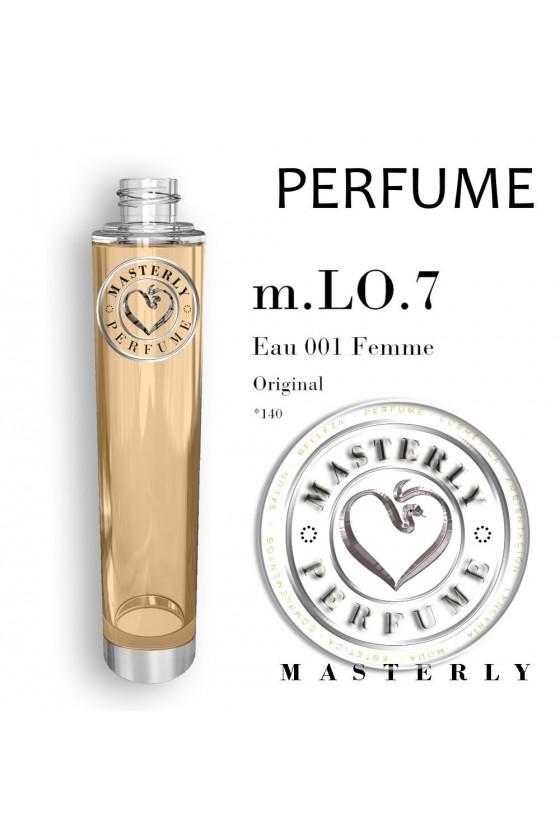 Perfume Original - Eau 001 Femme para ella - Oriental Floral - m.LO.7 - 140